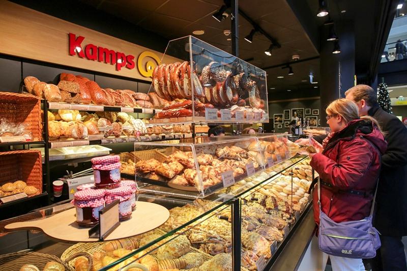 Kamps Bäckerei Verkaufsraum